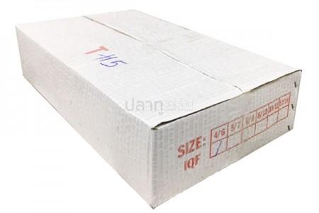 ปลาตาโตเขียว 4-6(10KG) กล่องขาว-ปั้มไชต์แดง