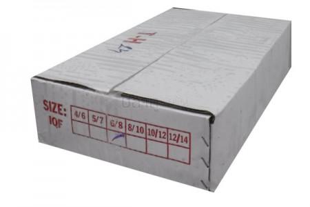 ปลาตาโตเขียว 6-8(10KG) (กล่องขาว-ปั๊มไซส์แดง)