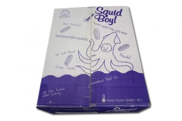 หมึกวงติดหนัง(ขาว/ม่วง)(SquidBoy!)(10KG)